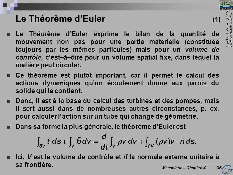 Le Théorème d'Euler (1)