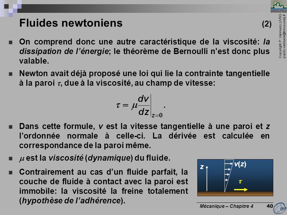 Fluides newtoniens (2)