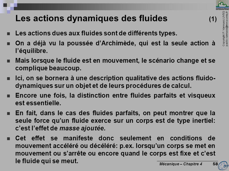 Les actions dynamiques des fluides (1)