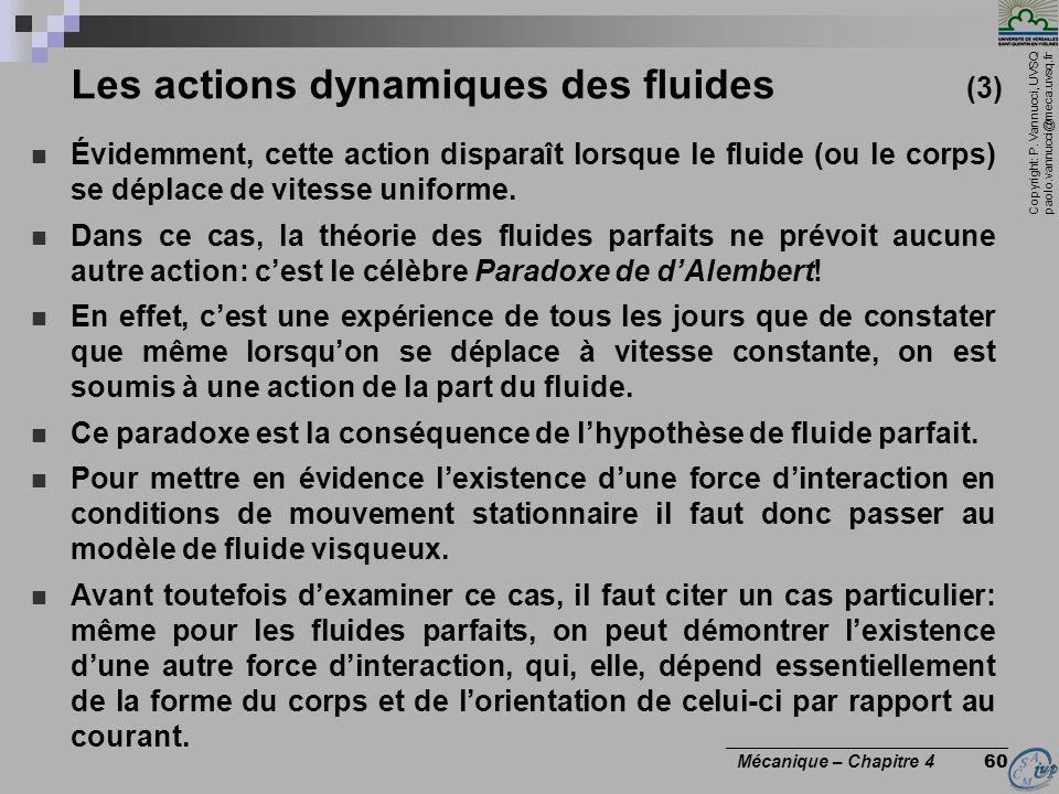 Les actions dynamiques des fluides (3)