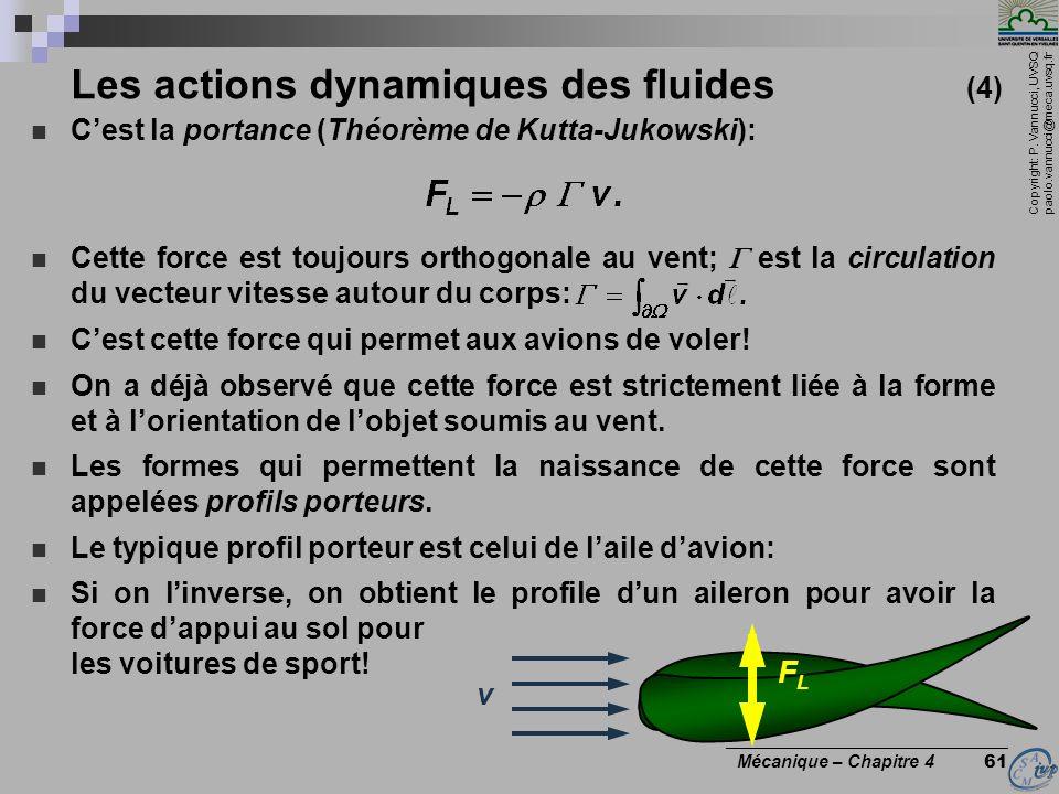 Les actions dynamiques des fluides (4)