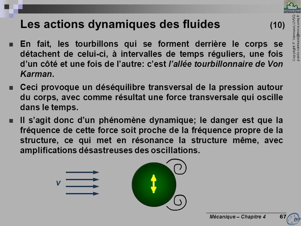 Les actions dynamiques des fluides (10)