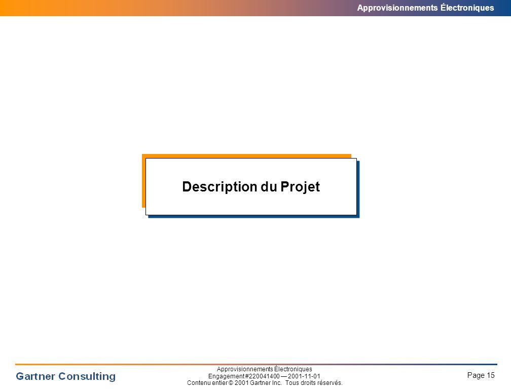 Description du Projet Le comité d'approvisionnement National de l'ACPAU a pour mandat de: