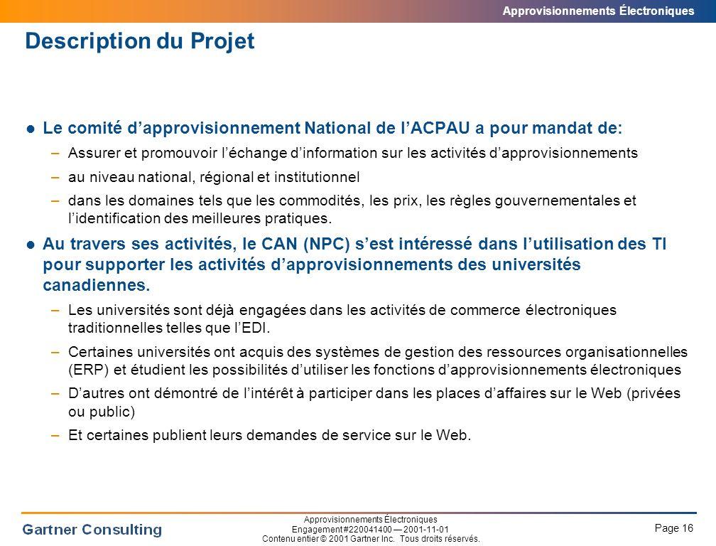 Description du Projet Par contre, le contexte universitaire rend l'adoption des nouvelles technologies plus difficiles.