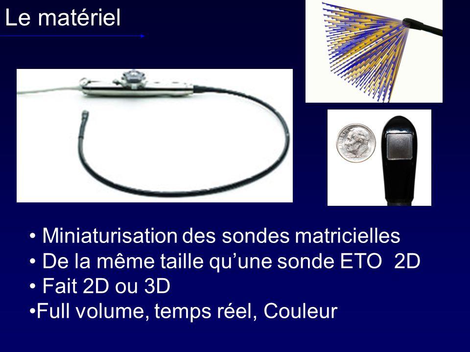 Le matériel Miniaturisation des sondes matricielles