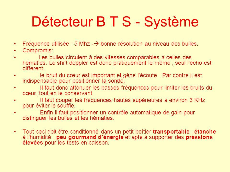 Détecteur B T S - Système