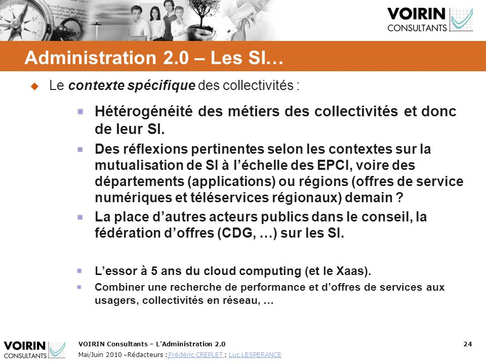 Administration 2.0 – Les SI…