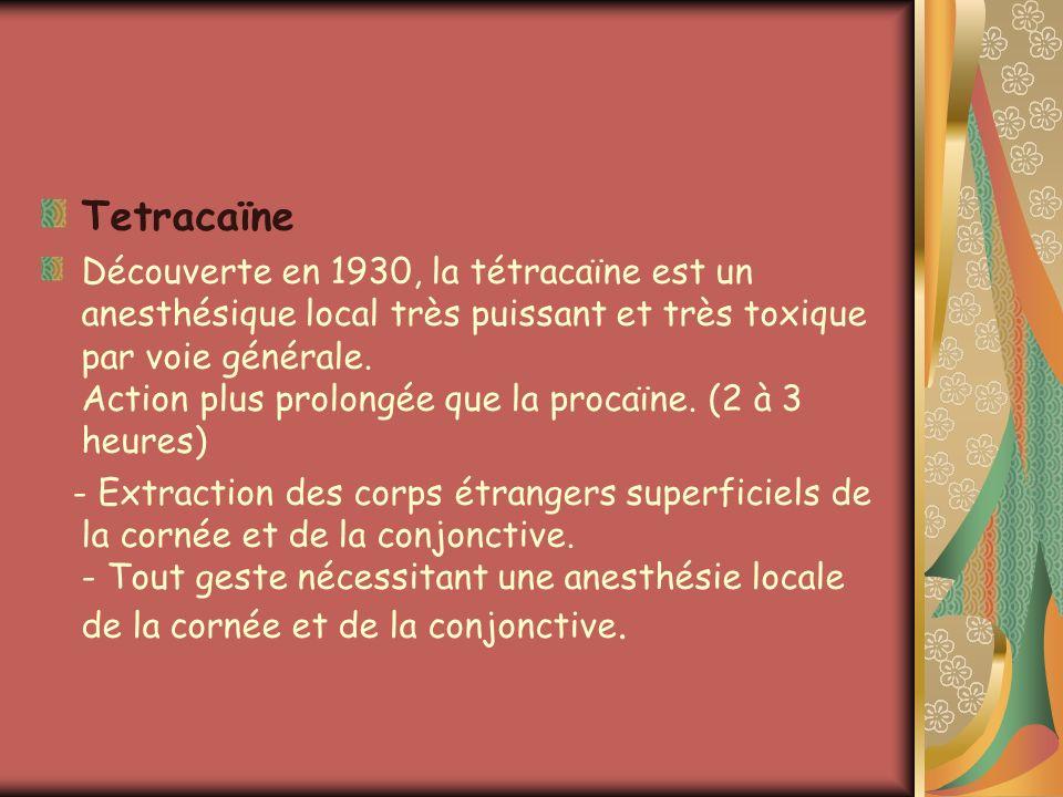 Tetracaïne