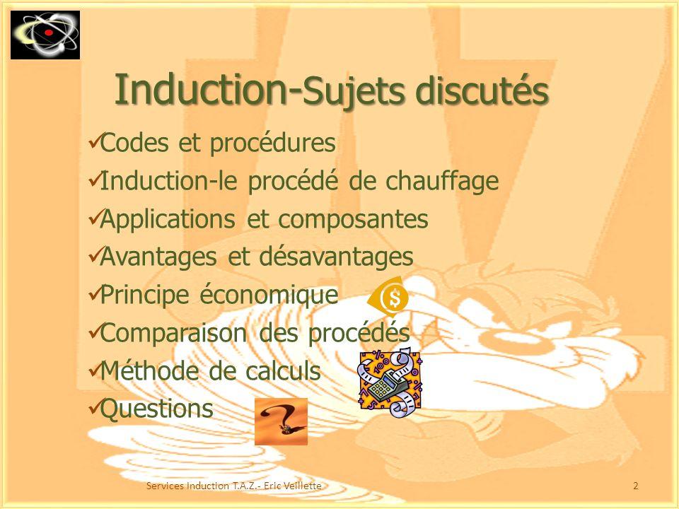 Induction-Sujets discutés