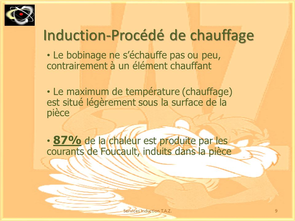Induction proc d d couvrir ppt video online t l charger for Temperature de la piece