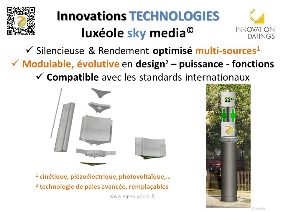 Innovations TECHNOLOGIES luxéole sky media©