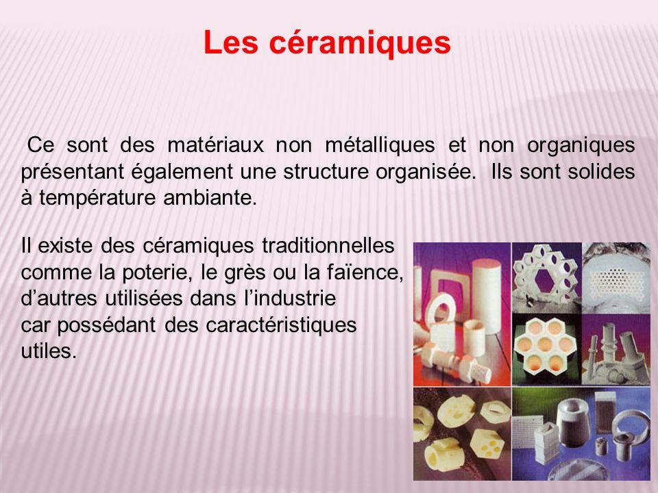 Les céramiques