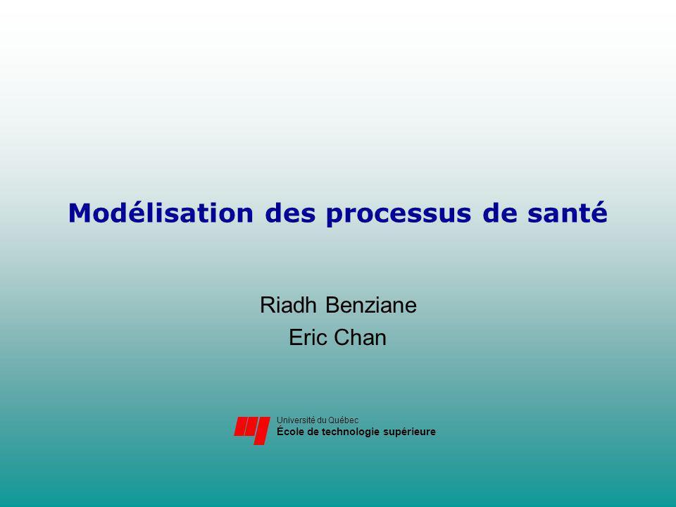 Modélisation des processus de santé