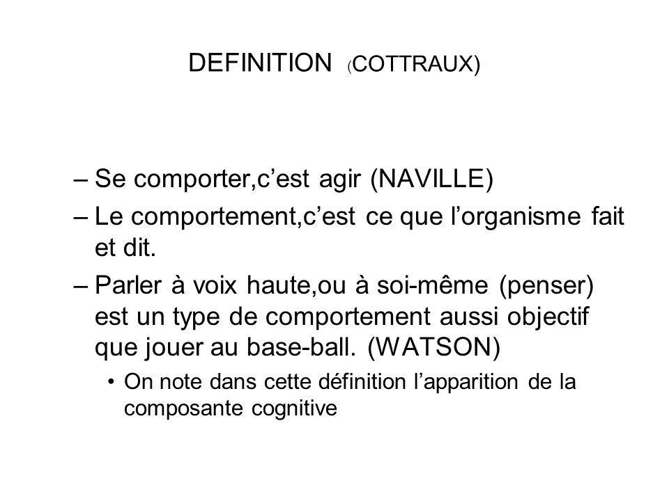 DEFINITION (COTTRAUX)