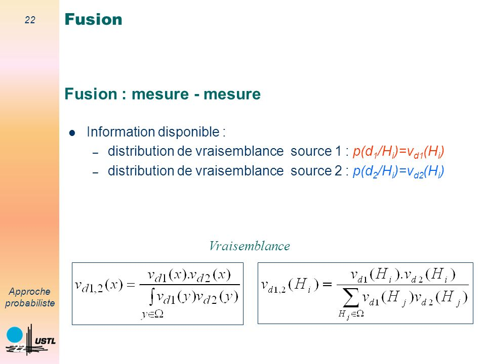 Fusion : mesure - mesure