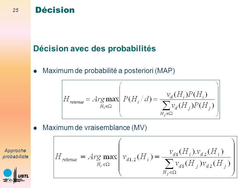 Décision avec des probabilités