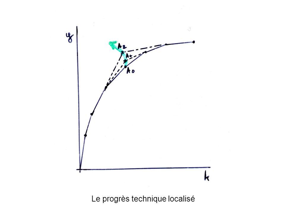 Le progrès technique localisé