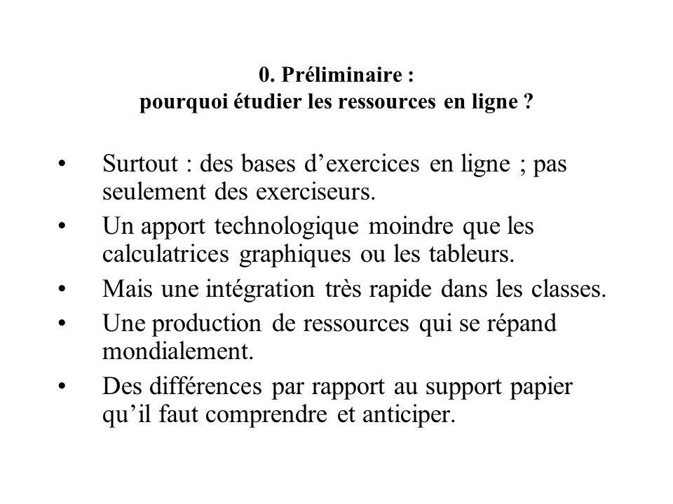 0. Préliminaire : pourquoi étudier les ressources en ligne