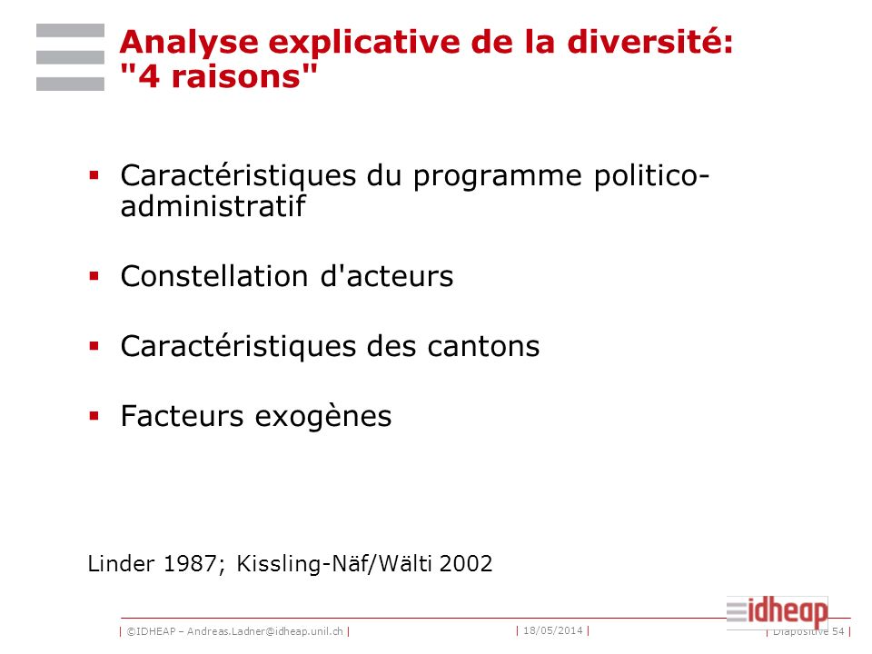Analyse explicative de la diversité: 4 raisons