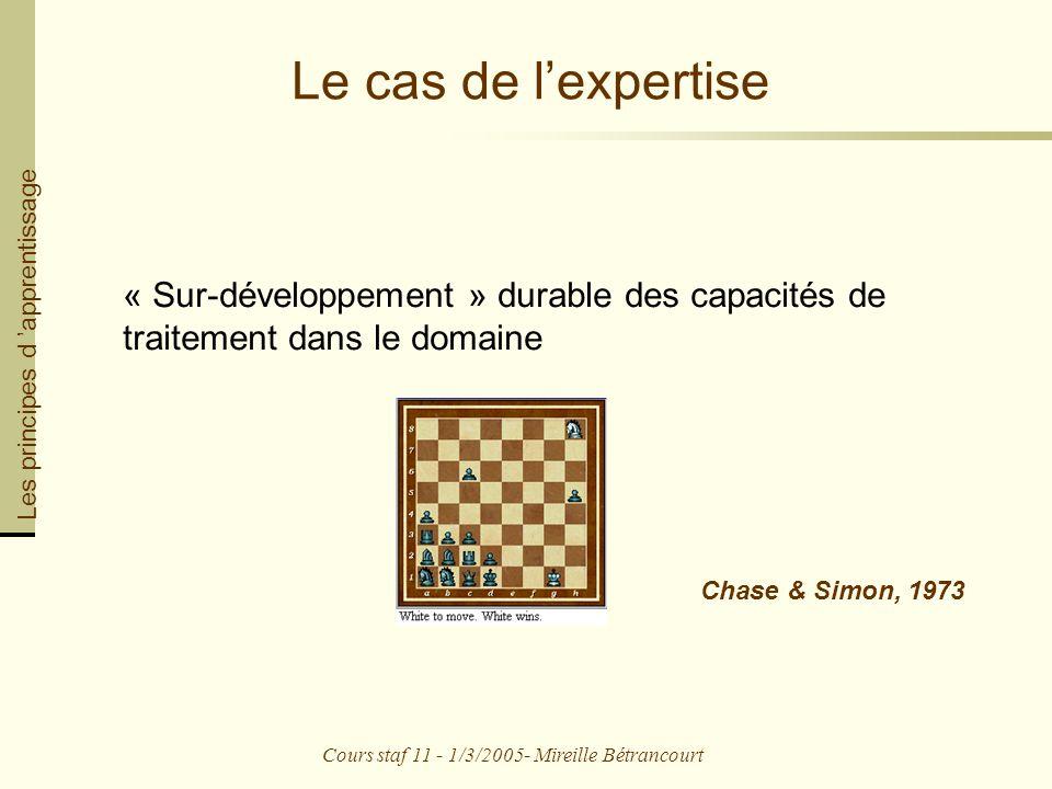 Cours staf 11 - 1/3/2005- Mireille Bétrancourt