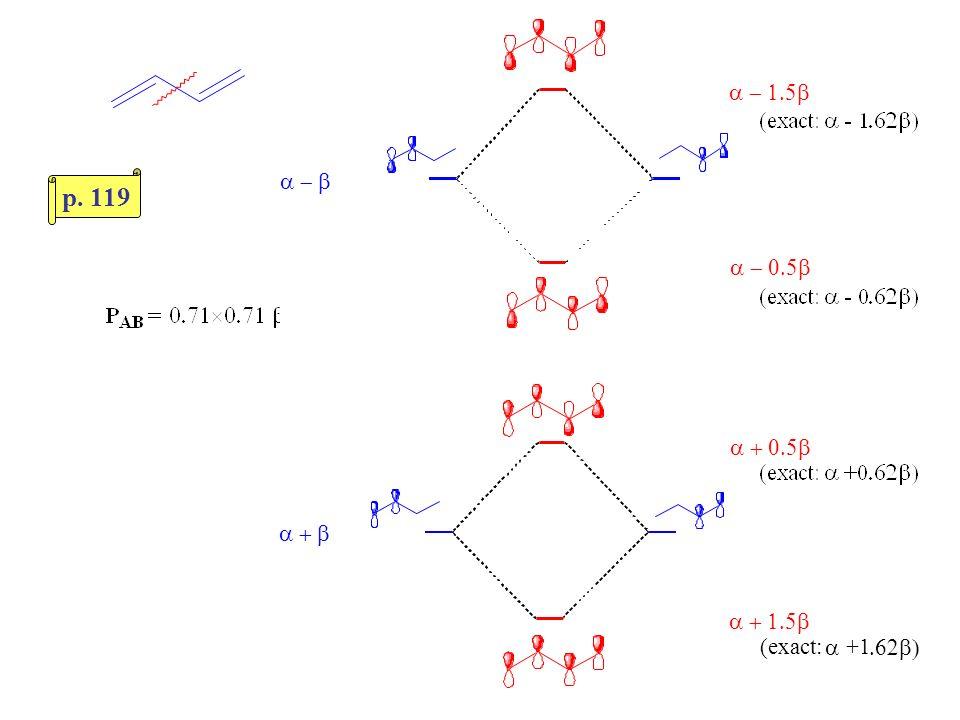 p. 119 a - 1.5b a - b a - 0.5b a + 0.5b a + b a + 1.5b (exact: a +1
