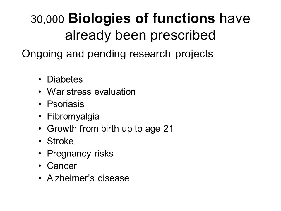 30,000 Biologies of functions have already been prescribed