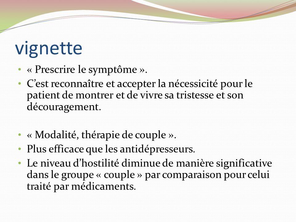 vignette « Prescrire le symptôme ».