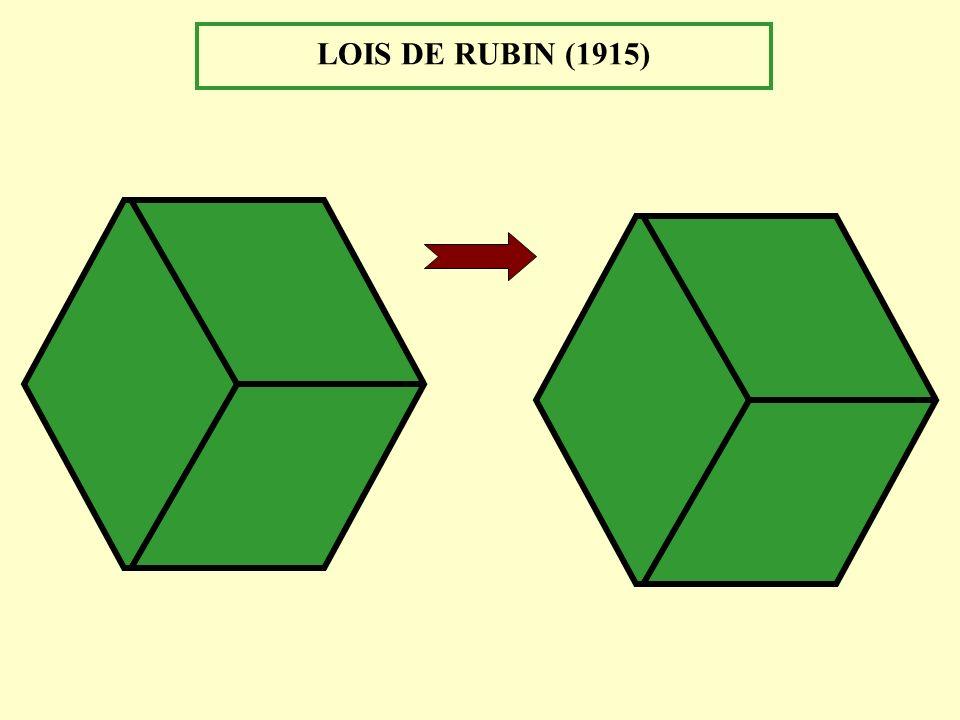 LOIS DE RUBIN (1915)