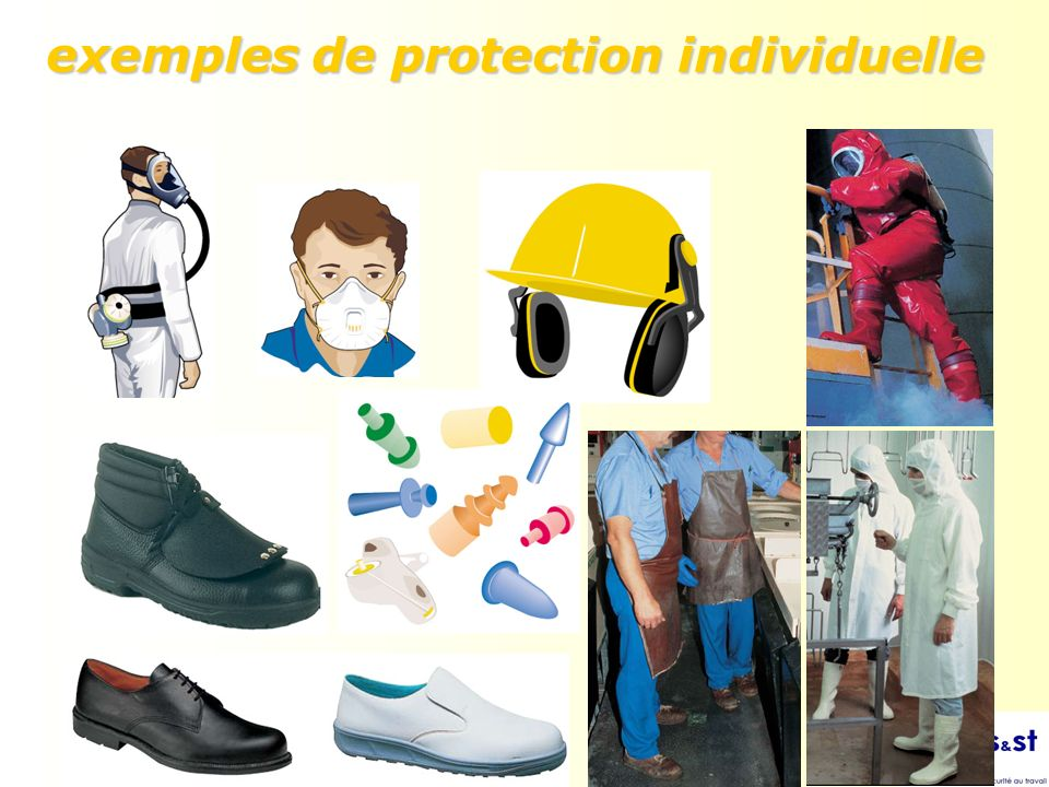 exemples de protection individuelle