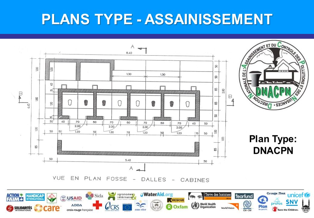 PLANS TYPE - ASSAINISSEMENT