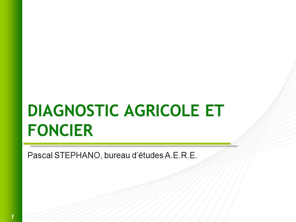 DIAGNOSTIC AGRICOLE ET FONCIER