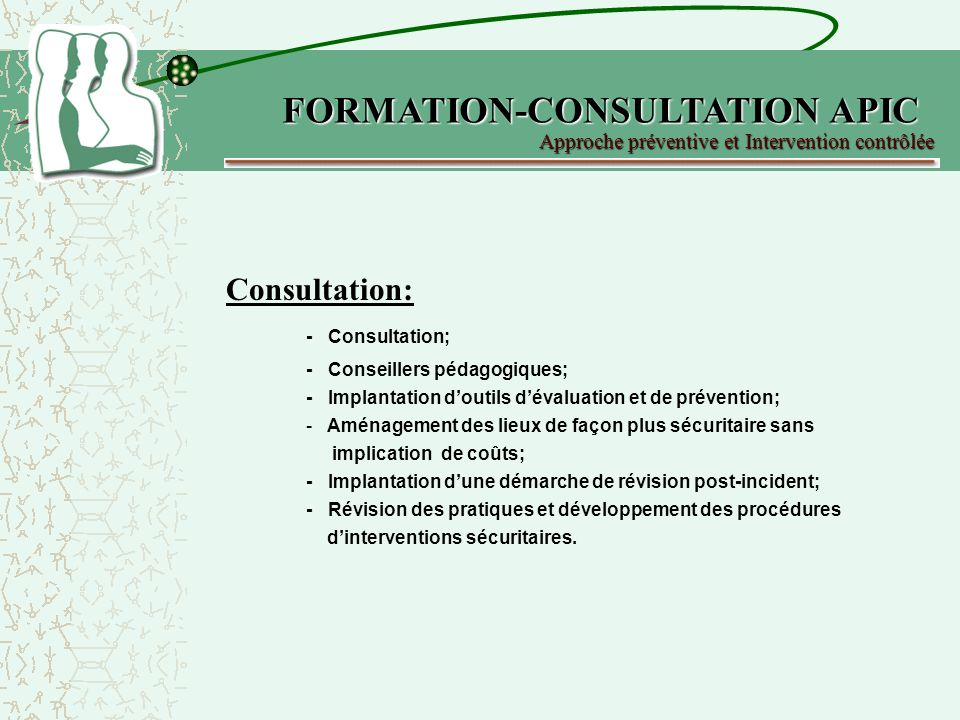 FORMATION-CONSULTATION APIC