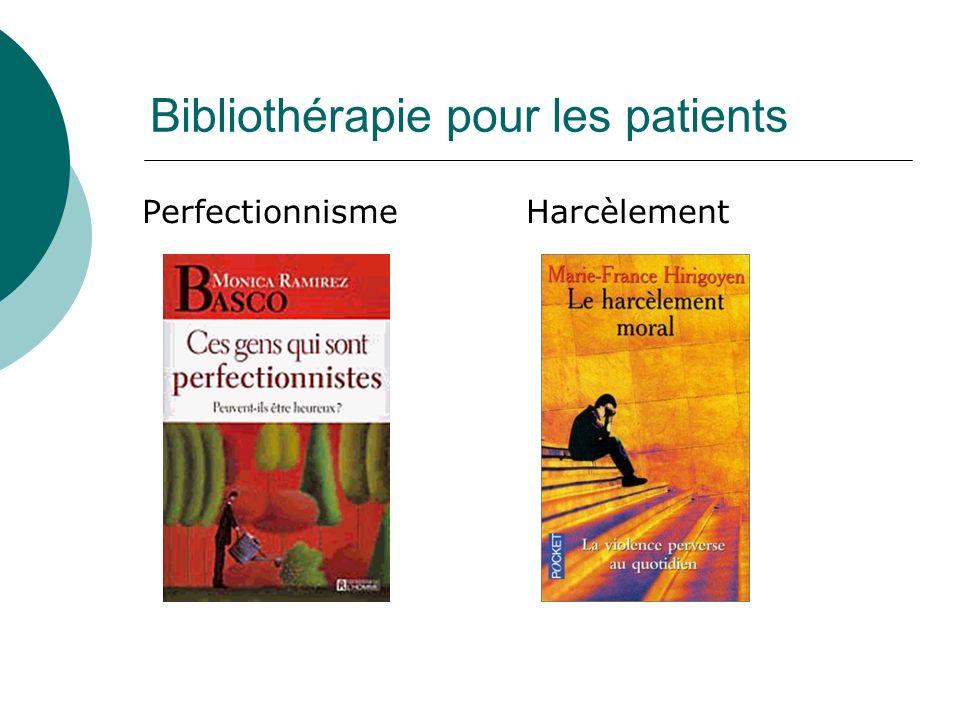 Bibliothérapie pour les patients