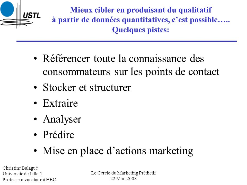 Le Cercle du Marketing Prédictif