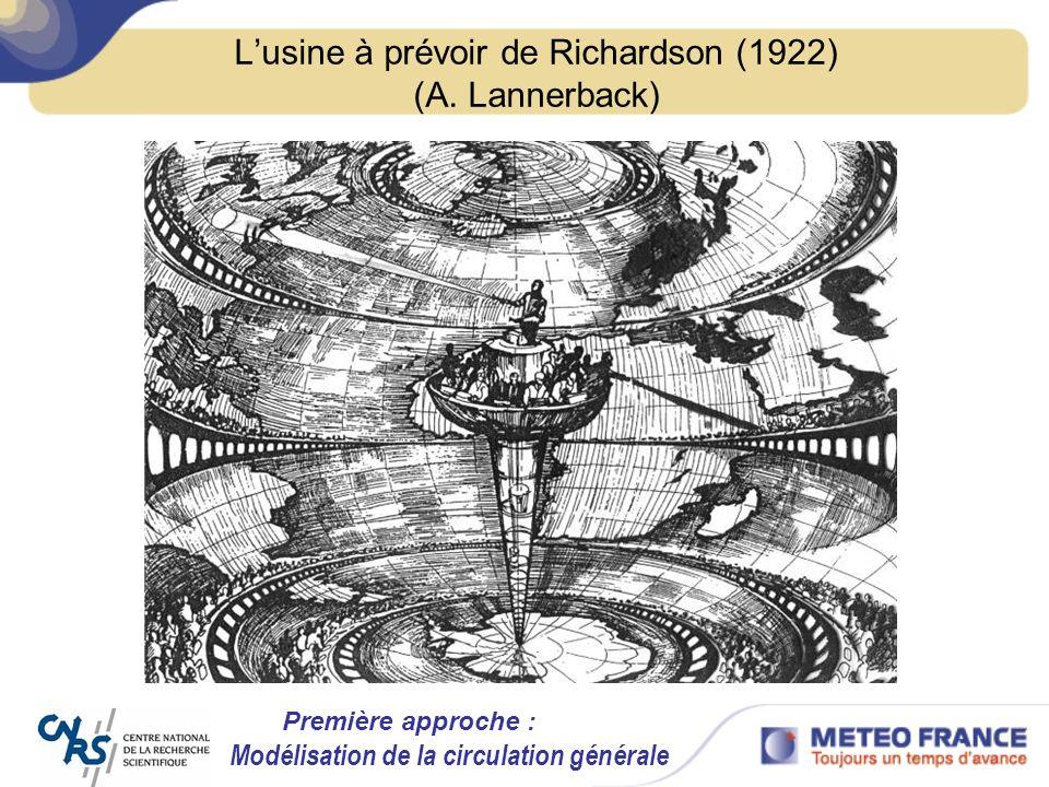 L'usine à prévoir de Richardson (1922) (A. Lannerback)