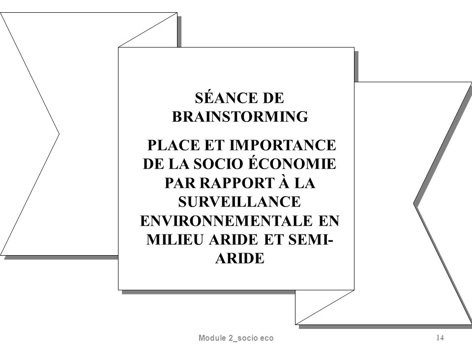 SÉANCE DE BRAINSTORMING