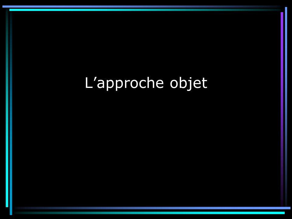 L'approche objet 3