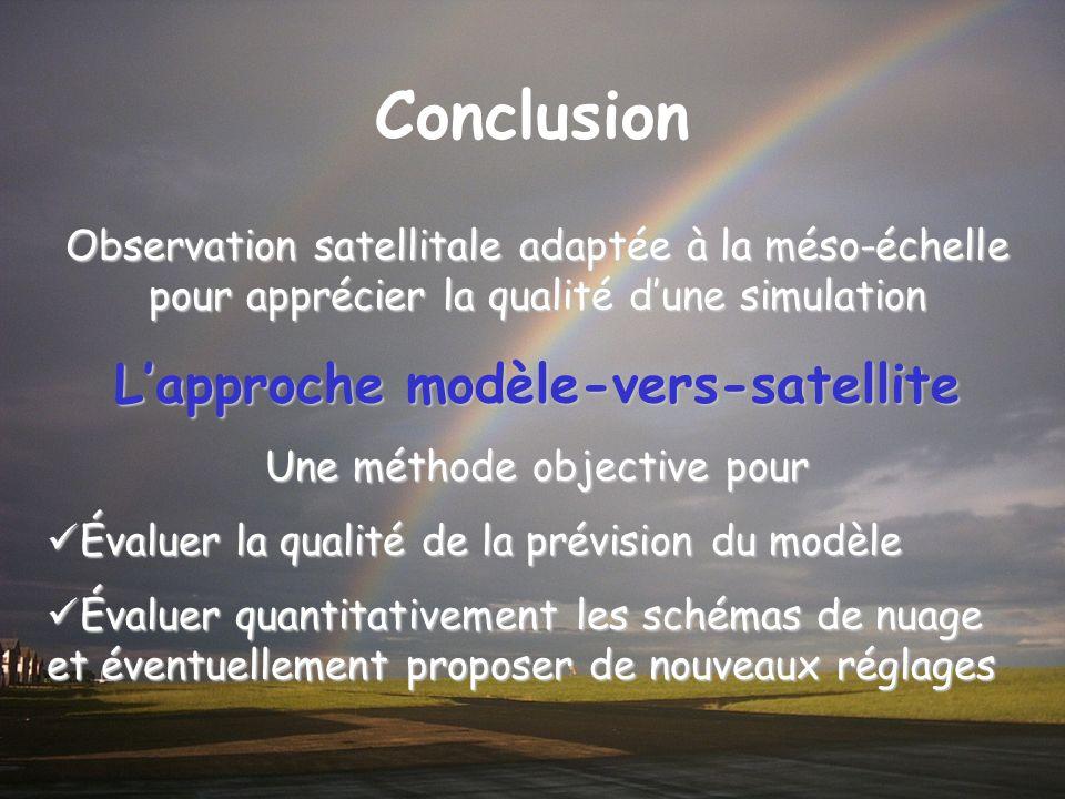 L'approche modèle-vers-satellite