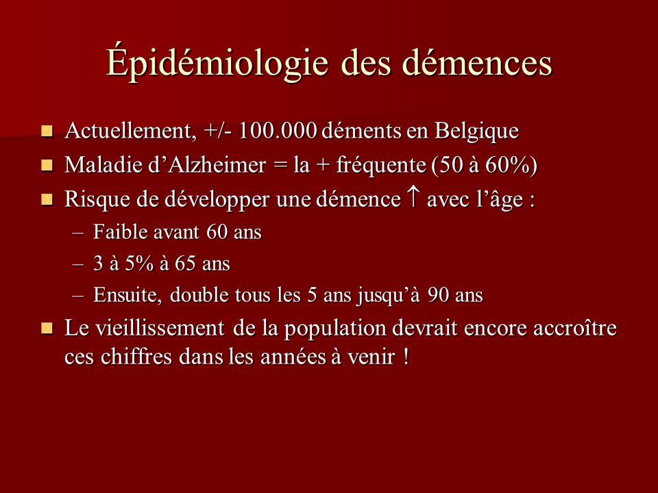 Épidémiologie des démences