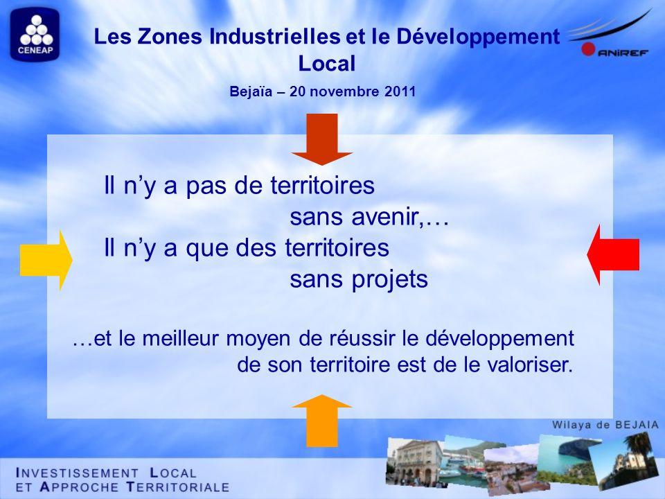 Les Zones Industrielles et le Développement Local