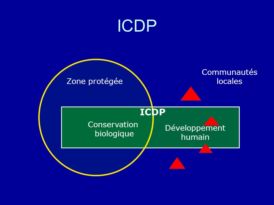 ICDP ICDP Communautés locales Zone protégée Conservation
