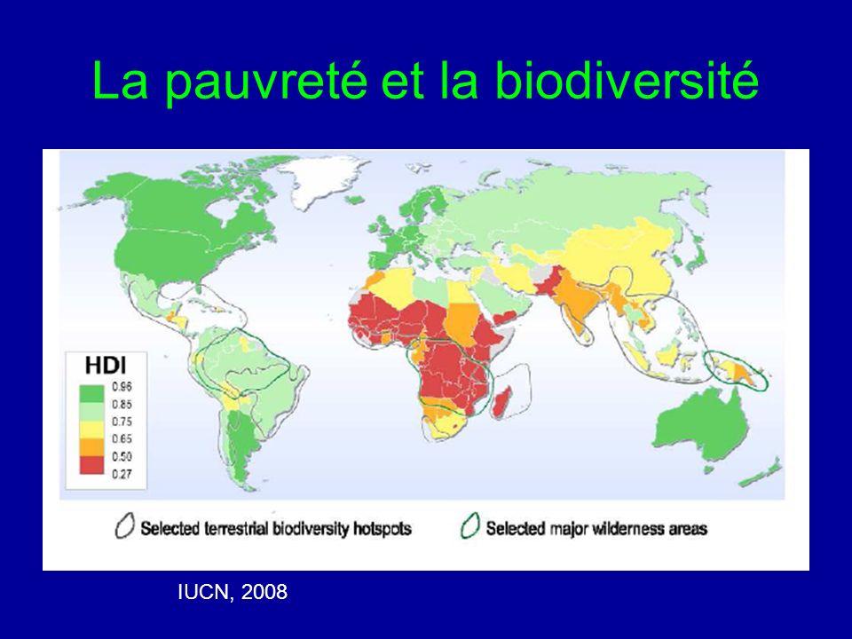 La pauvreté et la biodiversité