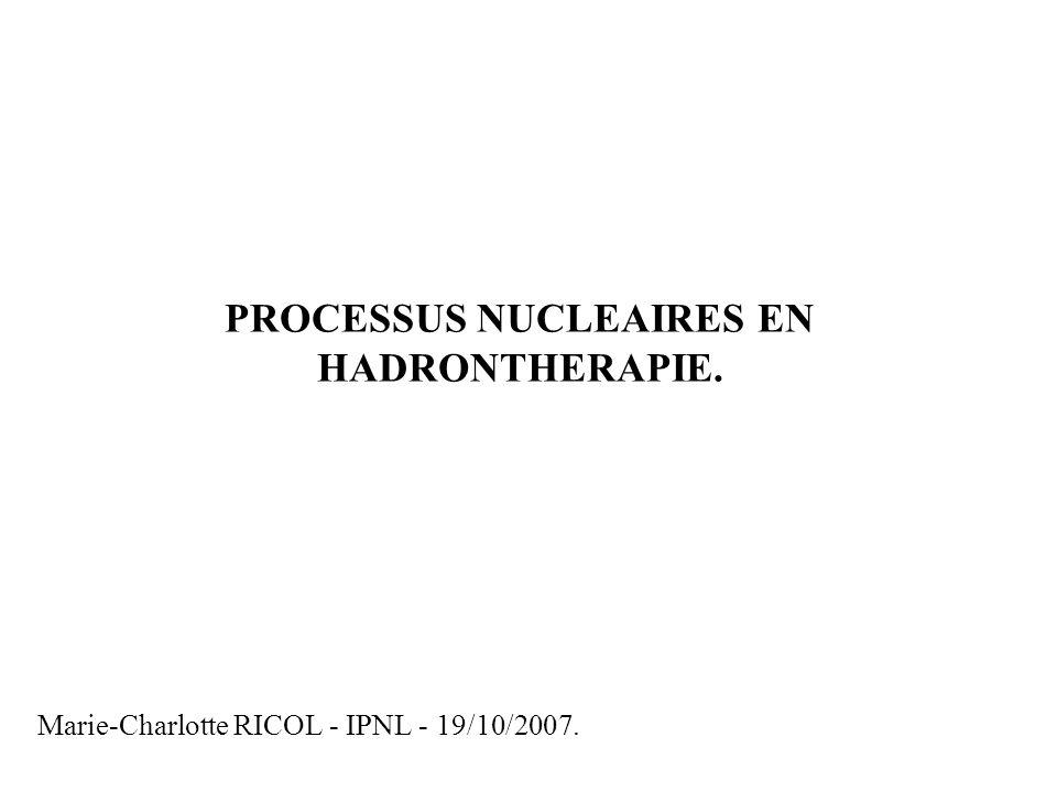 Marie-Charlotte RICOL - IPNL - 19/10/2007.