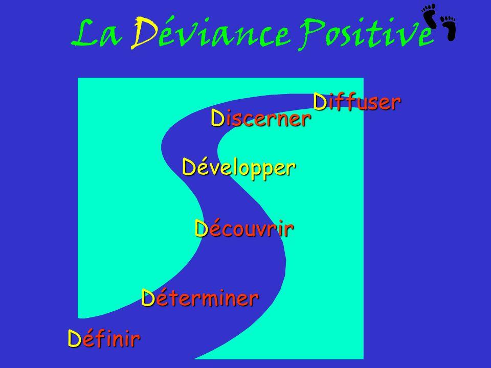 La Déviance Positive Diffuser Discerner Développer Découvrir