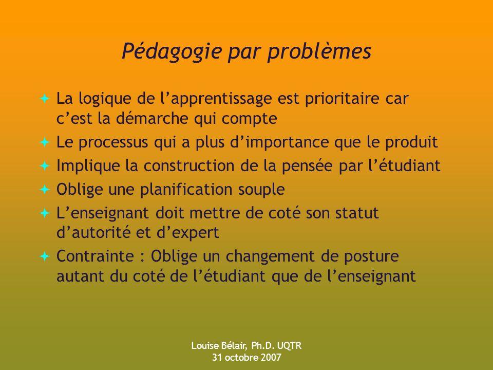 Pédagogie par problèmes