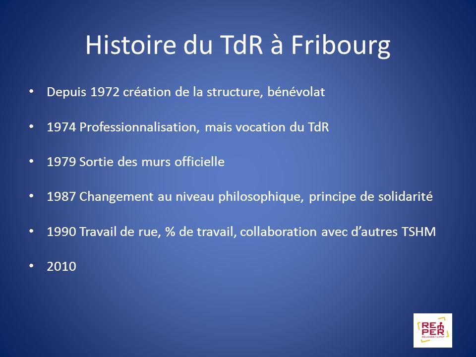 Histoire du TdR à Fribourg