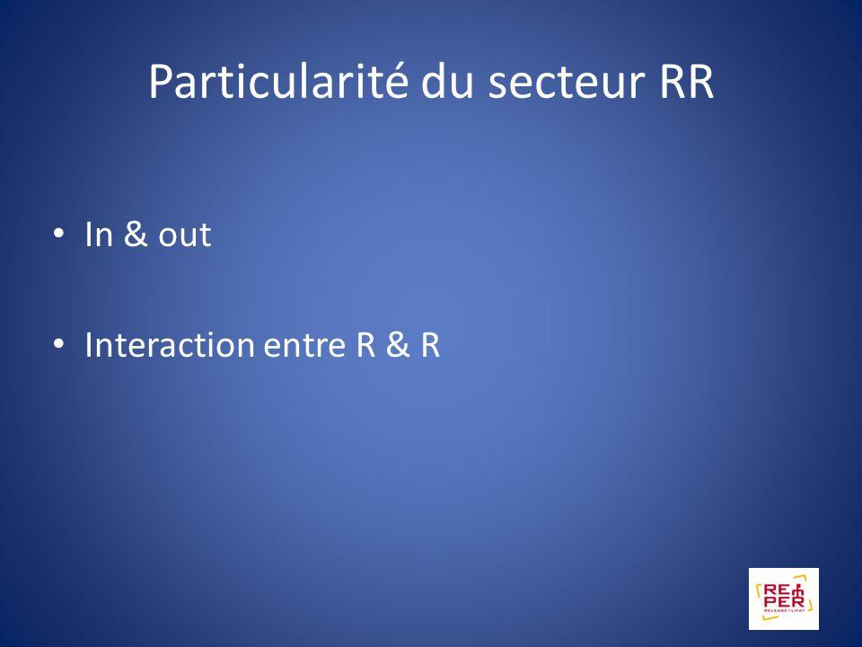 Particularité du secteur RR