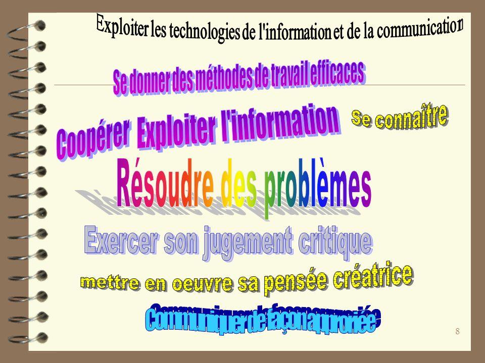 Exploiter l information
