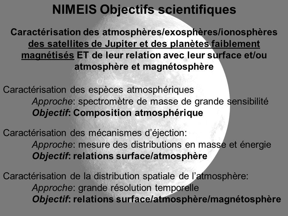 NIMEIS Objectifs scientifiques