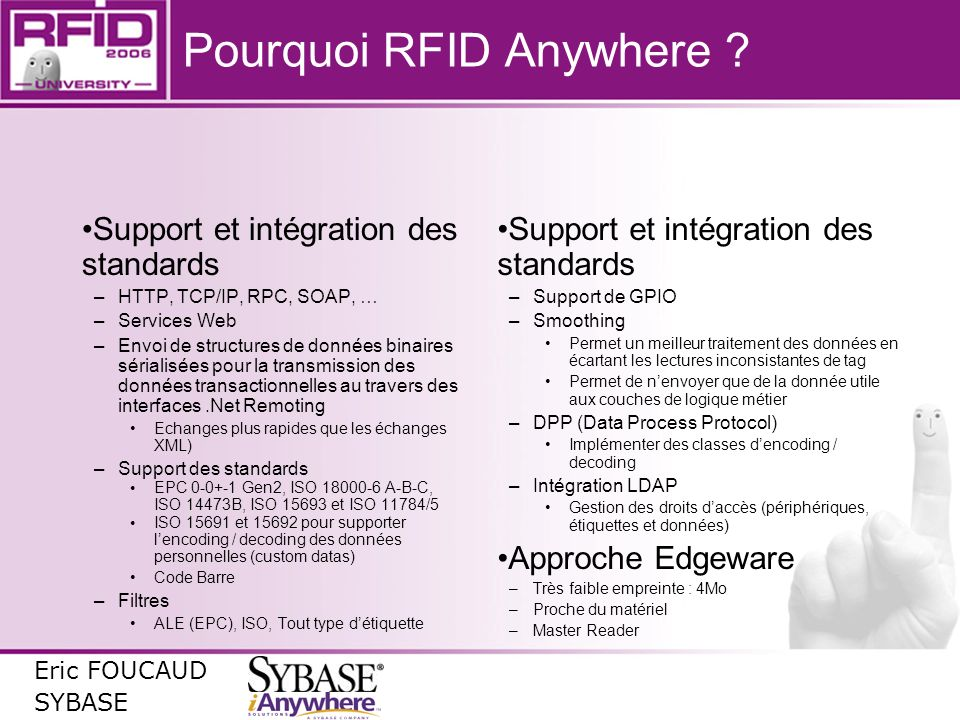 Pourquoi RFID Anywhere